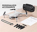 Квадрокоптер L900 pro 4K Двойная камера БК мотори с GPS 5G WI-FI FPV бесщеточным Мотором 1,2 км, фото 7