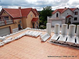 В данной работе использовали белый искусственный мрамор по технологии высокоплотных бетонов. Наши товары не требуют покраски или шпаклевки. Гарантированный срок службы более 25 лет.