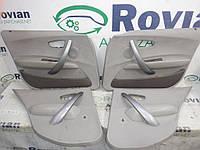 Б/У Оббивка двери (комплект) (Хечбек) BMW 1 series E87 2004-2011 (БМВ E87), 5753361 (БУ-200788)
