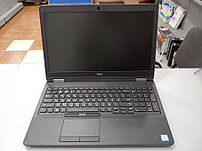 """Dell Latitude E5570 / 15.6"""" (1366x768) / Intel Core i7-6600U (2(4) ядра по 2.6 - 3.4 GHz) / 8 GB DDR4 / 240 GB, фото 2"""