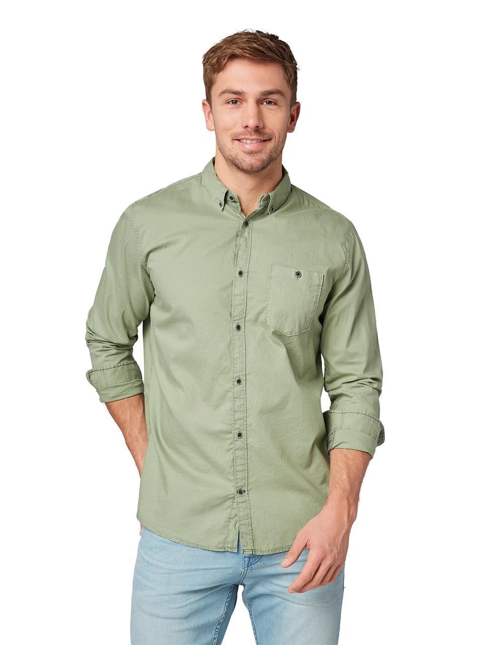 Рубашка Tom Tailor 1009433 L Хаки