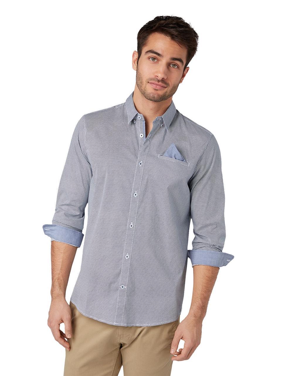 Рубашка Tom Tailor 1009445 XL Голубой