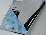 """Пакет новорічний 30*20 фольгований """"Снігурочка мала"""", фото 2"""