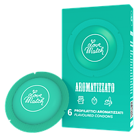 Презервативы - Aromatizzato (Flavoured), 54 мм, 6 шт.
