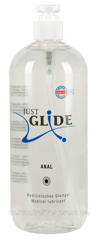 Лубрикант - Just Glide Anal, 1000 мл