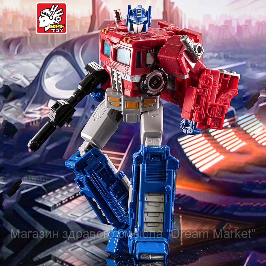 Игрушка для мальчиков Робот-Трансформер Оптимус Прайм, Siege, 22 см - Transformer, Optimus Prime, Siege, BPF