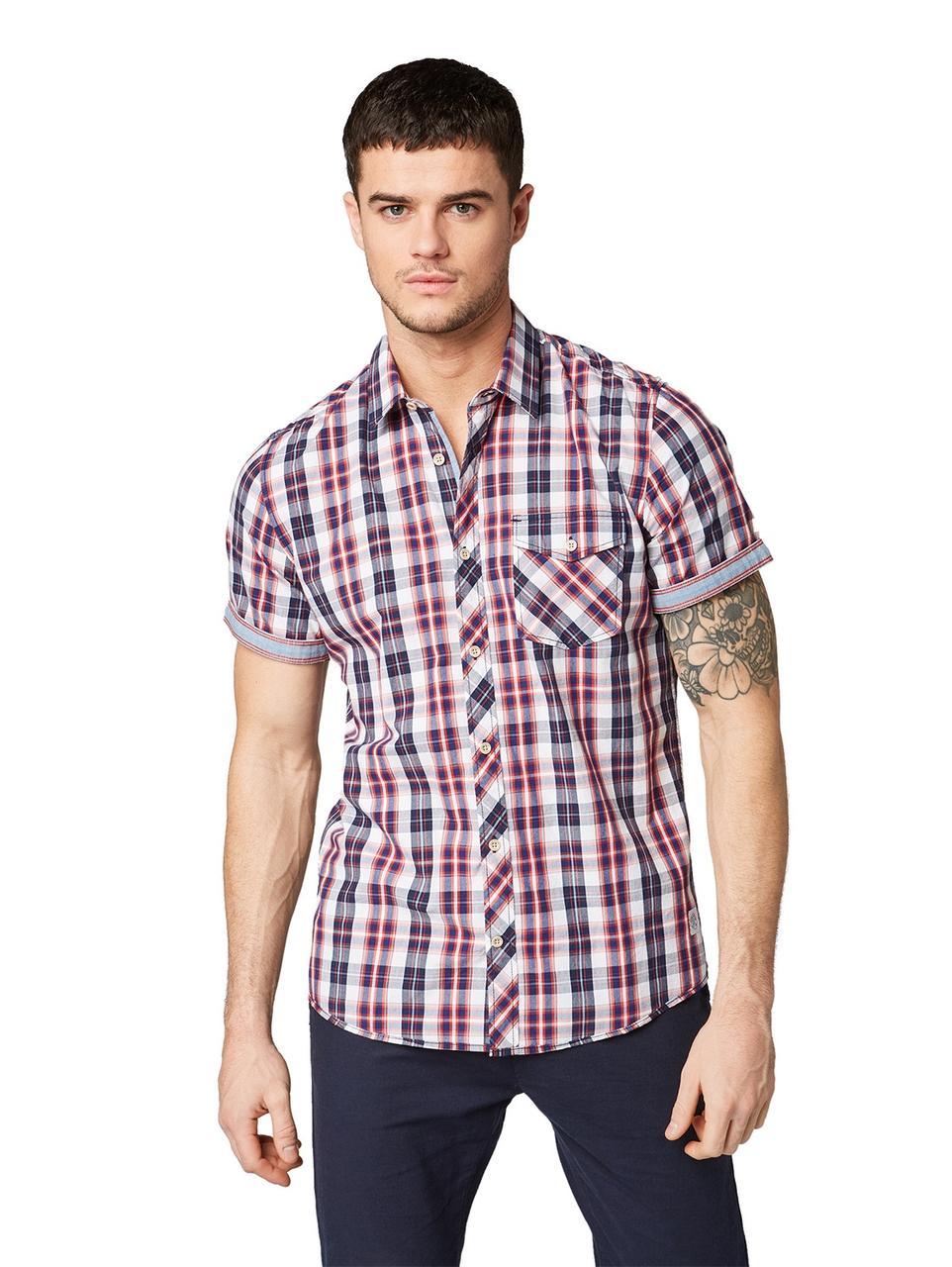 Рубашка Tom Tailor 1012252 M Красный
