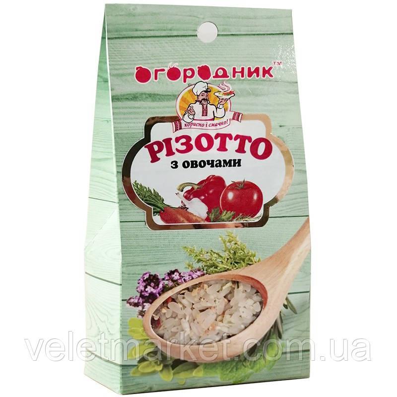 Суміш для приготування Різотто з овочами Огородник 200 г (4820079240819)