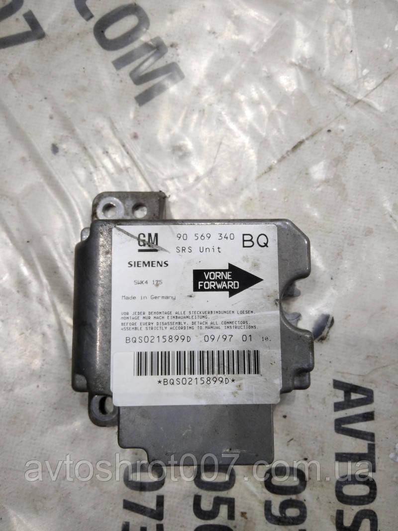 Блок управления AirBag Opel Vectra B 90569340