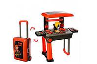 Детский набор инструментов на стойке чемодане Best Toys 008-922 Чемодан набор инструментов для детей Столярный
