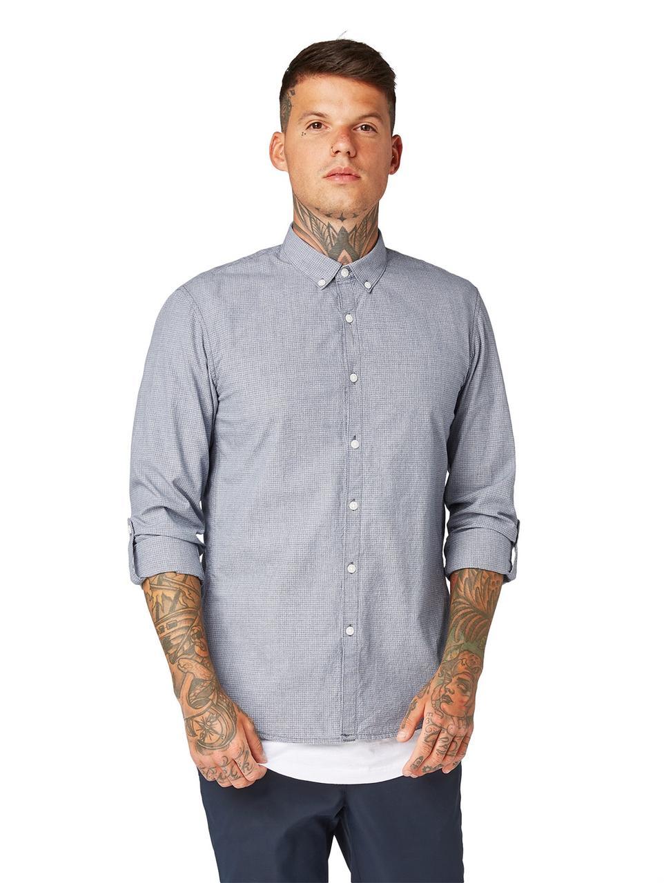 Рубашка Tom Tailor 1010960 L  Голубой