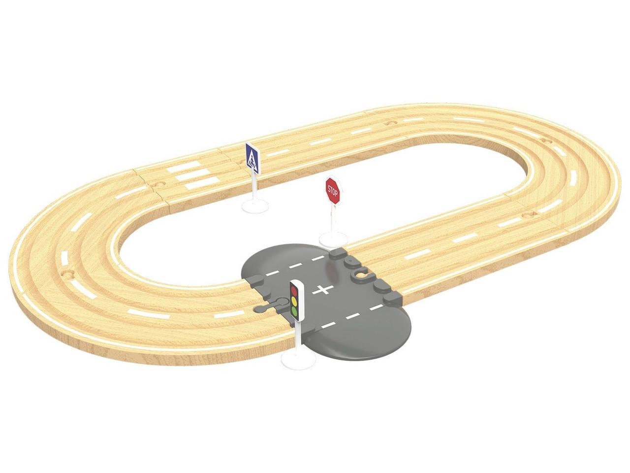 Додаткові елементи для дерев'яної залізниці PlayTive, Ikea lillabo, Viga Toys 12 елементів