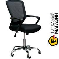 Офисное кресло со спинкой сетка Special4you Marin black черный