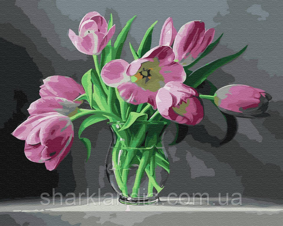 "Картина за номерами. Rainbow Art ""Тюльпани"" GX33945-RA"