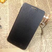 Черный чехол-книжка (флип) к Samsung GalaxyS2 (i9100)