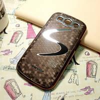 Чехол к Samsung GalaxyS3 (i9300) коричневый