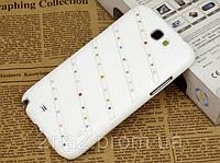 Чехол с камнями Сваровски для Samsung Galaxy Note 2 n7100, фото 1