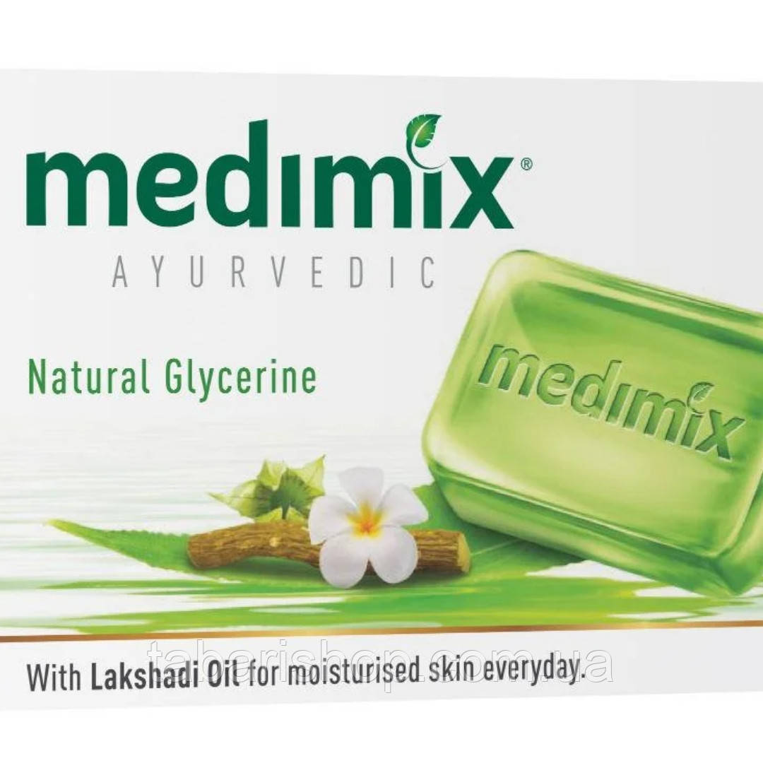 Мыло Медимикс c глицерином и маслом лакшади, 125 гр