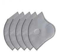 Сменный фильтр в Наборе 5 шт для защитной маски угольный KN95 / FFP2 RockBros (6060301)
