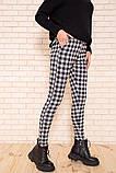 Брюки женские 117R530 цвет Черно-серый, фото 3