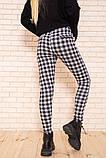 Брюки женские 117R530 цвет Черно-серый, фото 4
