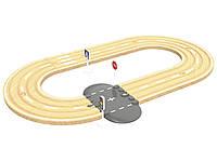 Дополнительные элементы для деревянной железной дороги PlayTive, Ikea lillabo, Viga Toys 12 элементов