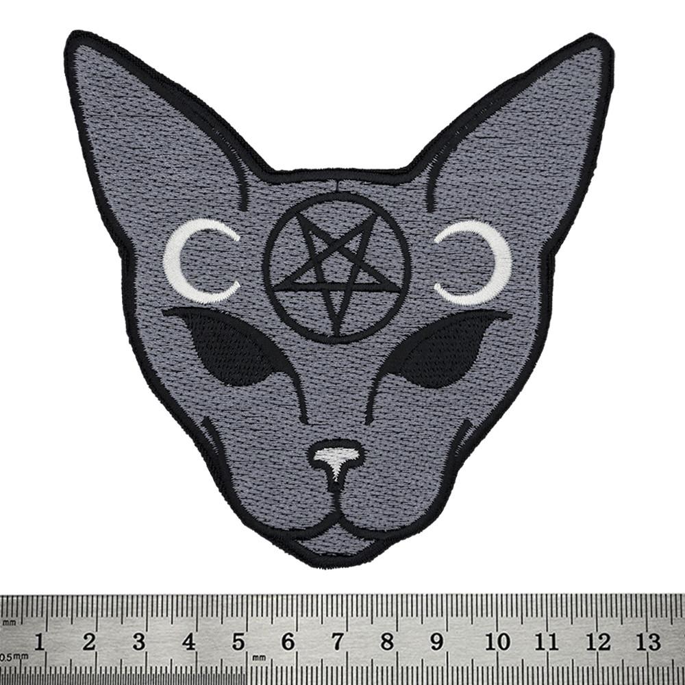 Нашивка Cat with Pentagram