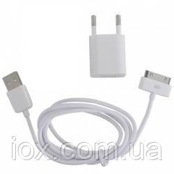 Комплект для зарядки iPhone/iPod 2 в 1