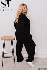 Костюм женский брючный ангоровый теплый удобный размеры: 50-54, фото 2