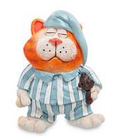 """Оригинальная статуэтка """"Кот в пижаме"""" (W.Stratford) RV-562, фото 1"""
