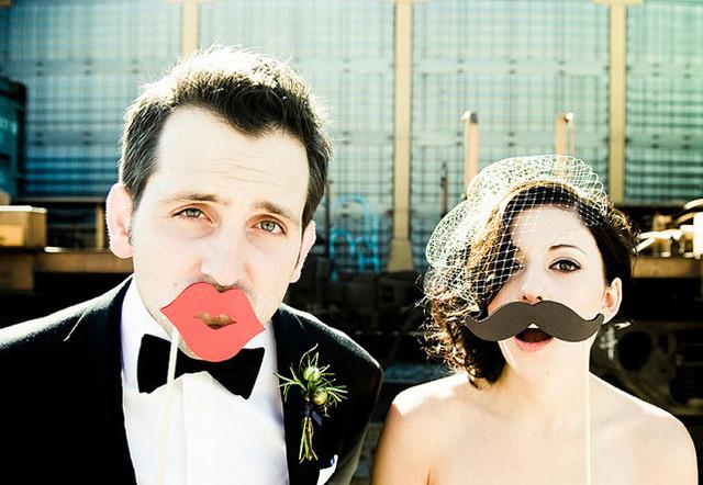 Фотобутафория Усы и губы
