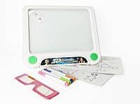 Детская интерактивная Доска для рисования 3D YM157(White)