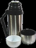 Термос комбинированный для пищи, для горячих и холодных напитков DMD 1.2л