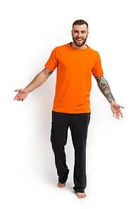 Футболка хлопок оранжевая