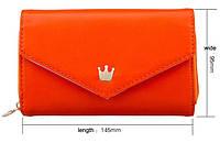 Чехол-сумочка оранжевая для телефона