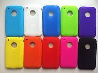 Силиконовый чехол 6 цветов в наличии для Iphone 3