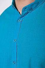 Рубашка 511F017 цвет Бирюзовый, фото 3