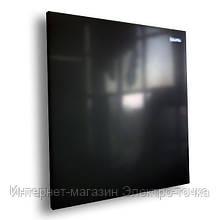 Керамическая панель обогреватель инфракрасный  КАМ-ИН черный с терморегулятором, 475 Вт
