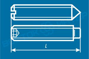 Как определить длину установочного винта