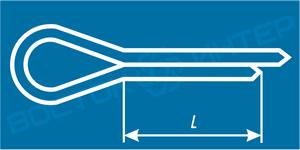Как определить длину шплинта