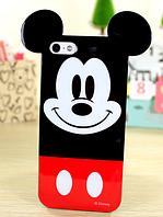 Глянцевый силиконовый Микки Маус чехол для Iphone 5/5S, фото 1