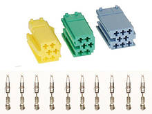 Набор Mini ISO коннекторов ACV 361441