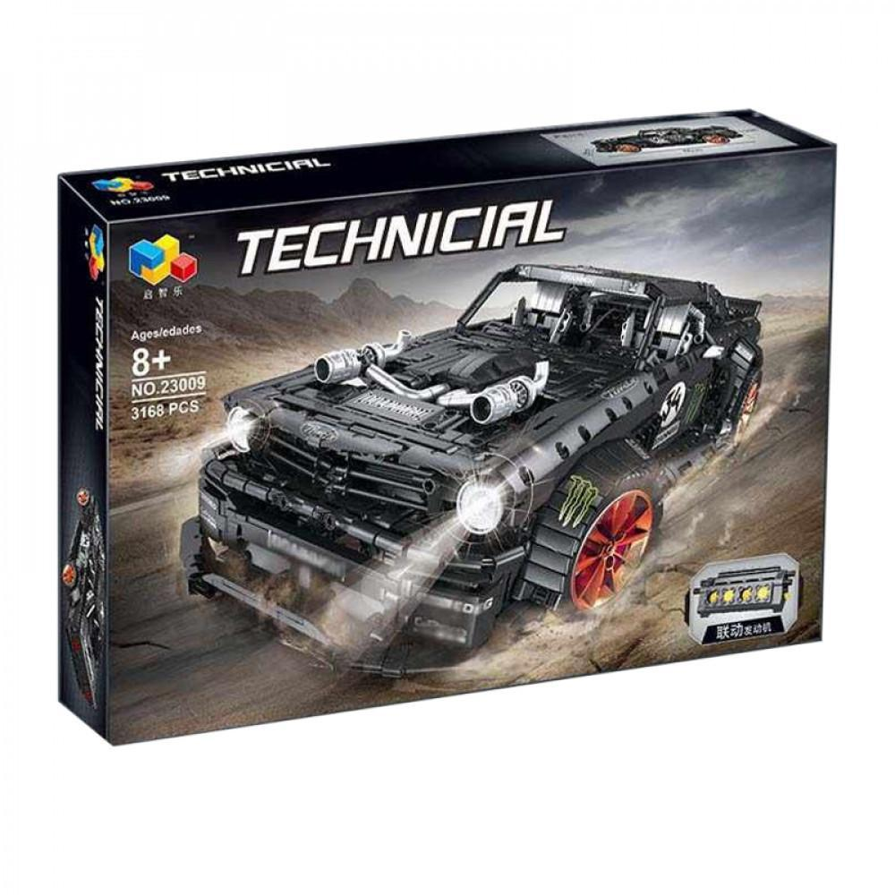 "Конструктор Lepin Technic 23009 ""Ford Mustang Hoonicorn V2"" с мотором"