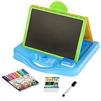 Детская интерактивная Доска для рисования YM135-6 (Голубой)