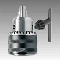 Патрон с ключом для дрели, шпиндель В16, диаметр 1,5-13 мм, Intertool