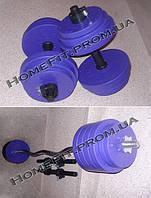 Набор Титан 31 кг (штанга W + гантели по 13кг)