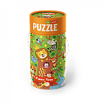 """Детская игрушка Пазл и игра Mon Puzzle """"Волшебное дерево"""""""