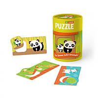 """Детская игрушка Пазл и игра Mon Puzzle """"Зоология для Малышей. Хвостатые Друзья"""""""