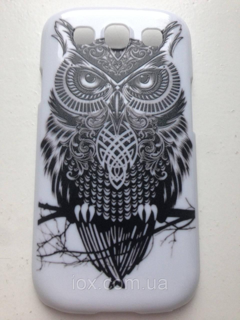 "Чехол ""Сова"" для Samsung S3(I-9300)"