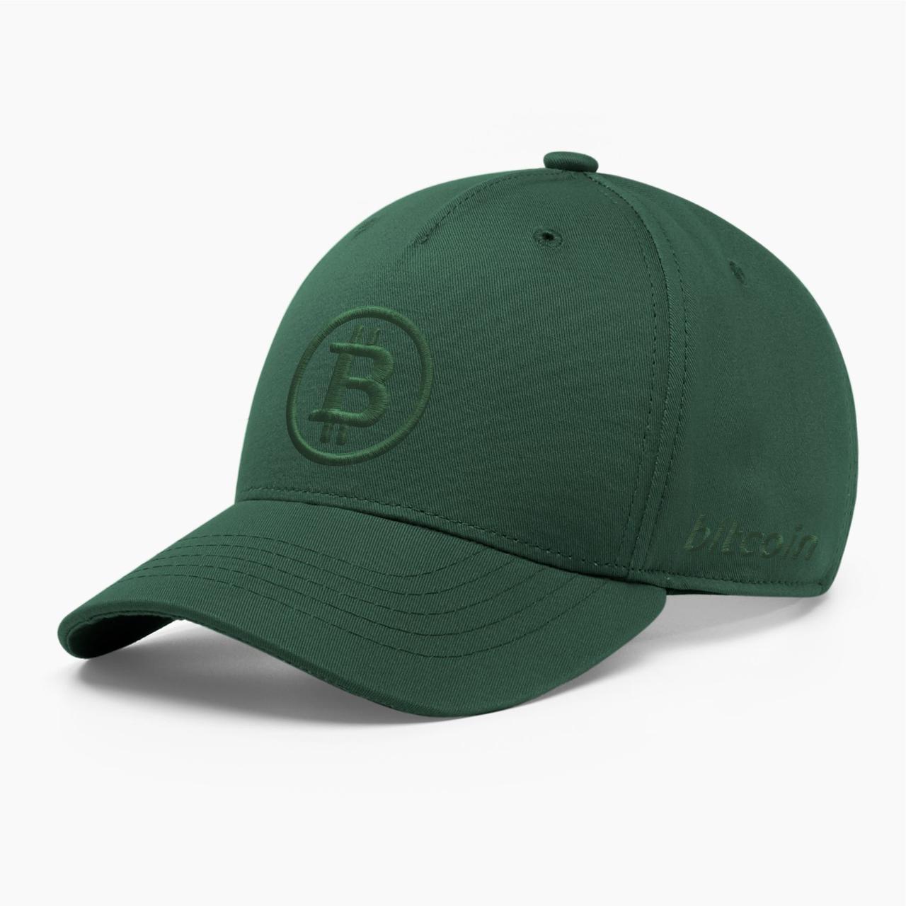 Кепка бейсболка INAL Биткоин Bitcoin BTC S / 53-54 RU Зеленый 13353